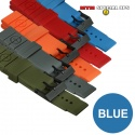 Colored Silicon Rubber Watch Straps Blue - 엠티엠 실리콘 루버 스트랩 (블루)