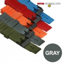 Colored Silicon Rubber Watch Straps Gray - 엠티엠 실리콘 루버 스트랩 (그레이)