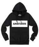 [샘플상품 할인이벤트]AMBITIOUS BOX LOGO HOOD(BLACK)