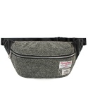 Tank 5L Waist Bag Harris Tweed Grey
