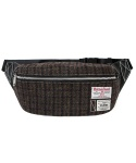 Tank 5L Waist Bag Harris Tweed Brown