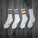 모티브스트릿(MOTIVESTREET) MOTIVE OLD SKATE HI-TOP COLOR SOCKS 2PAIR