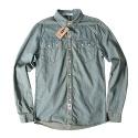 2poket denim shirt (light blue)