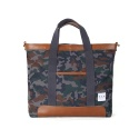 Gray Camouflage Large Bag