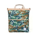 Green Camouflage Medium Bag
