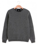 Sailor Pullover charcoal(100% wool)
