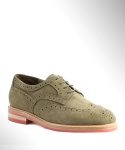 컬러콜라(COLOR COLLA) WING TIP SUEDE BLUCHER