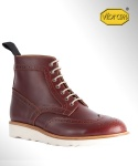 컬러콜라(COLOR COLLA) MORFLEX WING TIP COUNTRY BOOTS