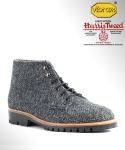 컬러콜라(COLOR COLLA) HARRIS TWEED ANKLE BOOTS