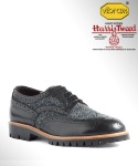 컬러콜라(COLOR COLLA) HARRIS TWEED WING TIP BLUCHER