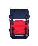 티레벨(T-LEVEL) Challenger Backpack Navy/Red