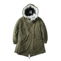 "와이엠씨엘케이와이(YMCL KY) YMCL KY US Type M-65 Field Parka One Wash ""Olive"""