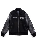 BRATSON X 13STEPS X SKASUCKS Collaboration F.T.S Stadium Jacket