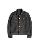 "XERO - Hard Raw Denim Jacket ""Black"""