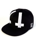 바잘(VARZAR) under cross strapback black