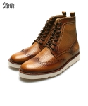 EMBO WING TIP BOOTS [OIL YELLOW]