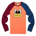 POPEYES COLORATION RAGLAN LONGSLEEVE (SUN ORANGE)