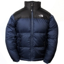 THE NORTHFACE B NUPTSE JACKET Deep Water Blue/TNF Black A3NWBlue