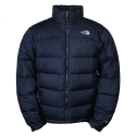 THE NORTHFACE M Nuptse jacket 472 - Deep Water Blue AUFDFBlack