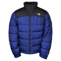 THE NORTHFACE M NUPTSE 2 JACKET Bolt Blue/Asphalt Grey AUFDBlue