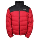 THE NORTHFACE M NUPTSE 2 JACKET TNF Red/Asphalt Grey AUFDRed