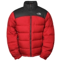 노스페이스 눕시 자켓 (M Nuptse jacket 65J - TNF Red/Grey) AUFD