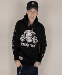 미드나잇런(MIDNIGHT RUN) MIDNIGHT RUN racing hood (Black)
