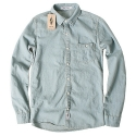 윈디플로어(WINDY FLOOR) basic denim shirt2(light blue)