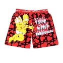 Simpsons Shorts 01 (Red)