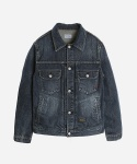 DARK WASHED GRANITE DENIM JACKET