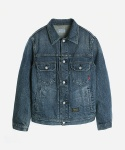 WASHED GRANITE DENIM JACKET