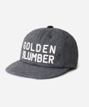 WOOL GOLDEN SLUMBER B.B CAP GRAY
