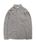 STRIPE SHIRT [BROWN]