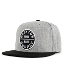 브릭스톤 OATH III SNAP BACK LIGHT HEATHER GREY/BLACK