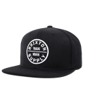 브릭스톤 OATH III SNAP BACK BLACK