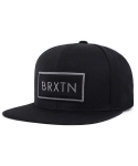 브릭스톤 RIFT SNAP BACK BLACK/BLACK