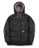 DUCK DOWN HEAVY PARKA (BLACK)