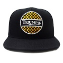Oil Leak Gold Check Snapback