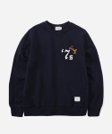 CREWNECK SWEAT SHIRTS 7s NAVY