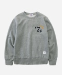 CREWNECK SWEAT SHIRTS 7s GRAY