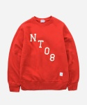 CREWNECK SWEAT SHIRTS NT08 RED