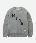 CREWNECK SWEAT SHIRTS NT08 GRAY