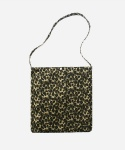 CORDUROY LEOPARD SHOPPER BAG