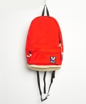 DAY PACK RED/BEIGE