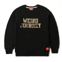 WEIRD JOURNEY CREWNECK (BLACK)
