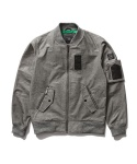 SIDE POCKET BLOUSON_GREY