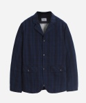 INDIGO CHECK SPORT COAT