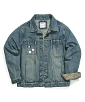 UTIL DENIM JACKET (washed indigo)