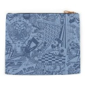 UTB 32 untage signature clutch bag_denim(남여공용)