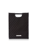 R TOTE 201 CARBON CANVAS BLACK